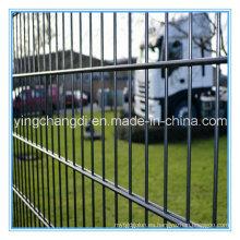 Alambre gemelo que cerca la fuente de la fábrica de China / la cerca doble de la malla de alambre