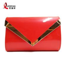 Damen Red Evening Bags Clutch für die Hochzeit