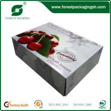 Caja de cartón / Caja de fruta fresca Caja de manzanas