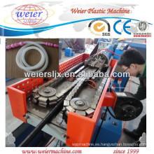 Máquina plástica del corrugador del PVC de los PP