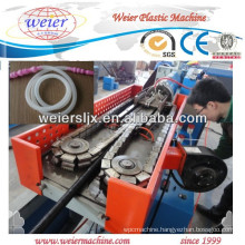 Corrugated HDPE PVC pipe extrusion line
