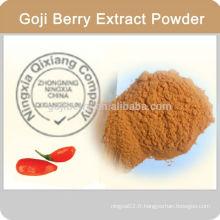 Haute qualité de santé en poudre Goji
