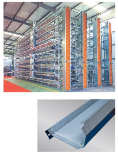 Automatic Metal Door Frame Roll Forming Line