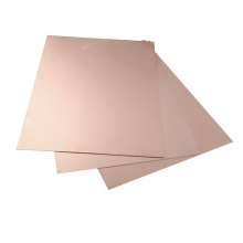 Hoja laminada recubierta de cobre de aluminio