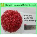 Precio de venta al por mayor de la baya de Goji orgánico del Goji chino liofilizado