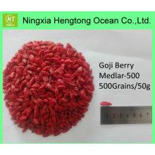 Prix de gros de baies de goji bio du fournisseur chinois de goji séché à froid