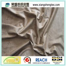 100% Polyester gestrickte Wildleder Sofa Stoff