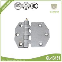 Shelter Door Hinge With Grease Nipple Bolt On