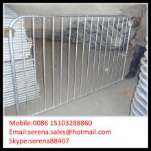 factory wholesale galvanised steel pedestrian barriers