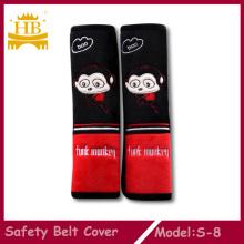 Cubierta de pelaje corto cómodo cinturón de seguridad para el coche