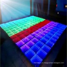 Светодиодный интерактивный танцпол свет