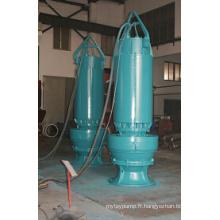 Pompe d'eaux usées à grande capacité pour les eaux usées (20000m3 / h)