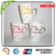 Tasse personnalisée en porcelaine de Chine fabriquée en Chine