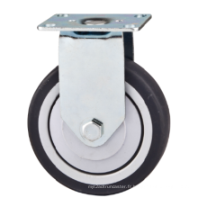 Roulette de meuble TPR rigide de 65 mm