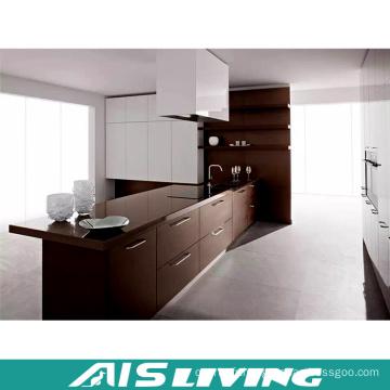 Cabinet de cuisine en bois de conception de moule professionnel, armoires de cuisine modernes fabriquées en Chine (AIS-K561)
