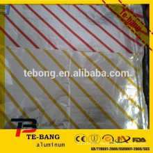 Folded Foil Sheets are variety of sizes ranging from 9 x 10 inch to 12 x 10 inch