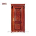 Porte extérieure en bois massif moderne minimaliste Foshan / cadre de porte en bois