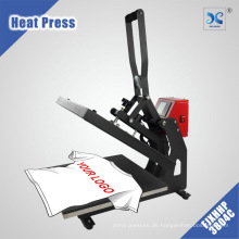 XINHONG Hitzepresse Clamshell LCD Digital Auto Open T-Shirt Druckmaschine