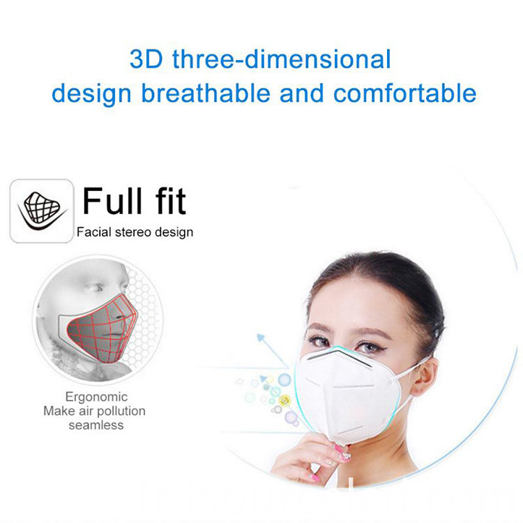 5 ply non woven Personal Protective FPP3 Mask