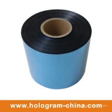 Feuille bleue gaufrée inviolable en aluminium