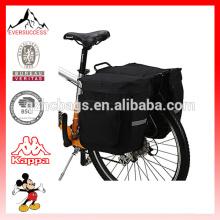 Sacos de sela dobro impermeáveis de 600D / PVC 37L para bicicletas