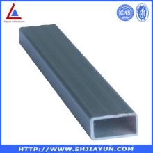 Tubo redondo e personalizado quadrado da extrusão da liga de alumínio