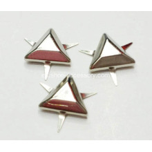 12mm Flat-Top Triangular Nailheads de zapatos