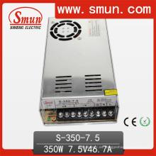 Fuente de alimentación de salida CC de 7.5V 46A 350W con ventilador