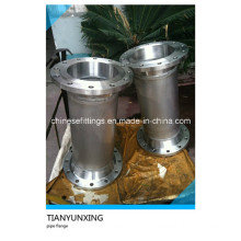 316L Wn RF Stainless Steel Flanges with Pipes