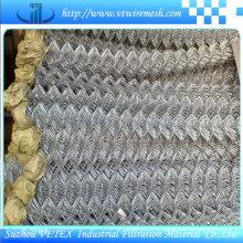 Clôture de maillon de chaîne utilisée dans la ferme