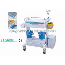 DW-FC005 Dressing carriage treatment cart medical trolley for sale