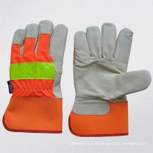 Hi-Vis Schwein Korn Leder Thinsulate Futter Winter Handschuh (3521)