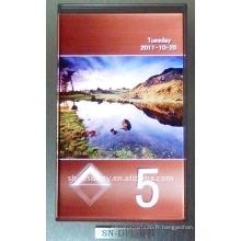 SN-écran LCD affiche ascenseur BCD Afficher code PCB bord COP. LOP