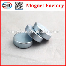N35 round shape 15mm x 5mm magnet