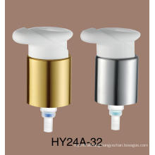 Clear Transparent Cosmetic Glass Bottles 24mm Plastic Cream Pump Lotion Pump