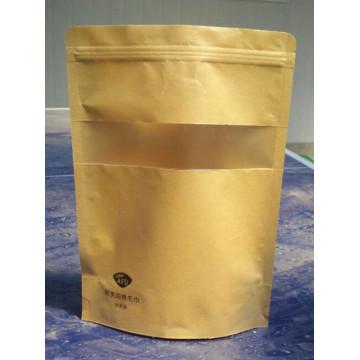 Sac en papier en aluminium / Sac à thé en papier / Stand up Sac en papier / sac en papier Kraft