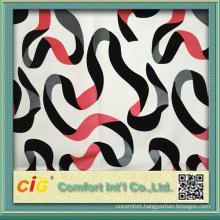 137cm Home Funiture Use Flocking Design 0.8mm PU Leather Fabric