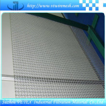 Treillis métallique carré serti utilisé dans le charbon