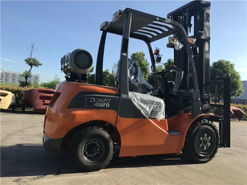 3.5ton gas forklift to Argentina from sheri07