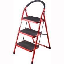 2-4 pasos de la escalera de acero plegable interior de la escalera del paso del hogar
