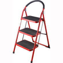 2-4 steps Household Indoor Folding Steel step Ladder Chair