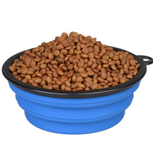Collapsible Silicone Dog Bowl, Free Foldable Expandable Cup for Pet Dog/Cat Food Water Feeding Portable Travel camping bowl Collapsible Silicone Dog Bowl, Free Foldable Expandable Cup for Pet Dog/Cat Food Water Feeding Portable Travel camping bowl