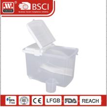 boîte de rangement en plastique
