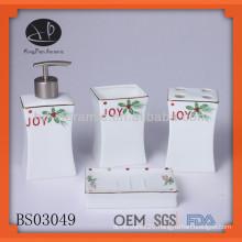porcelain bath gift sets wholesale,bathroom set