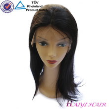For black Woman Cambodian Straight Human Hair Full Lace Wig Virgin Remy Hair