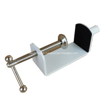 Furniture Metal Table Clamp For Acrylic Desk Screen