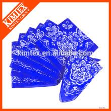 Bandoleras de algodón impresas al por mayor baratas personalizadas