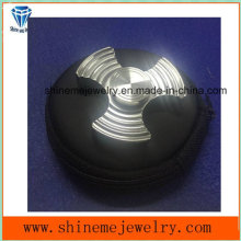 Shineme High Quality Stainless Steel Fidget Spinner Hand Spinner with You Logo