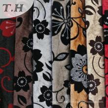100% poliéster Flocked Fabric New Design