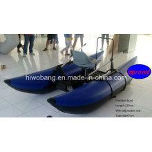 Barco de pesca inflável do pontão inflável